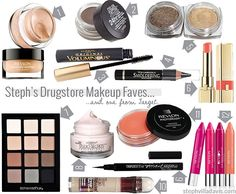 my top 12 drugstore makeup favorites - quick save for when you need it in a pinch