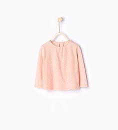 Organic cotton T-shirt-T-shirts-Baby girl-Baby | 3 months - 3 years-KIDS | ZARA United States