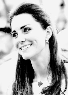 "Catherine, Duchess of Cambridge. Kate Middleton. ""Beauty, Elegance and Grace are best expressed in black and white, more so than in colors, just like the various shades of hope and despair that coexist in life."" - Deodatta V. Shenai-Khatkhate. April 19, 2014"