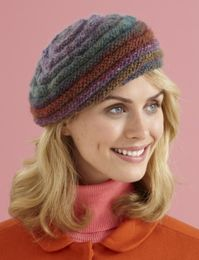 Knit New Moon Hat