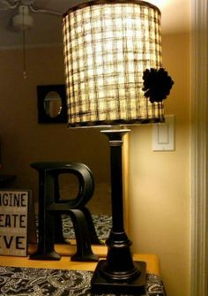 Lamp shade with rhinestones | For the Home | Pinterest | Lamp ...