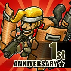 METAL SLUG returns, now available as an IDLE RPG! Clicker RPG mechanics meet the Metal Slug story and characters. Upgrade your units, battle with familiar Metal Game Data, Game 1, Game Icon, Mini Games, Games To Play, Clash Of Clans App, Heavy Machine Gun, Guild Wars, 1st Anniversary