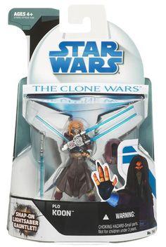 2008 Clone Wars Carded Plo Koon
