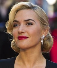 Vintage updo idea via the lovely Kate Winslet