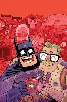 BATMAN #42 Teen Titans Go! Variant Cover