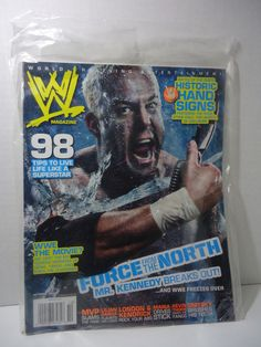 WWF / WWE Wrestling Magazine Issue October 2007 NEW NIP Mr Kennedy #WWE