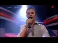 """Martin from X-factor Singing """"Kiss from a Rose"""". (vocal) go Denmark! I  SO wish there were eng subtitles 4 the judges comments.  I can find friends 2 translate many of the country's langs, but I have no Danish ppl in my life! he's 15 or 16, here."""