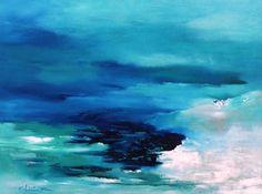 pinturas abstractas marinas - Buscar con Google