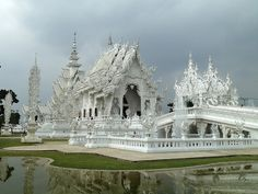 Wat Rong Khun.  From Angelika & Jan's photostream on Flickr