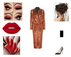 """""""evening"""" by pauline02 ❤ liked on Polyvore featuring Tom Ford and Lime Crime"""
