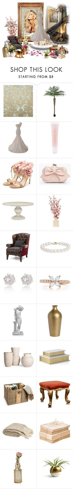 """""""I am here ..what was your other two wishes ? 5th June 2016"""" by angela-coulter ❤ liked on Polyvore featuring Hamda Al Fahim, Lancôme, Rupert Sanderson, Boohoo, Reine, Blue Nile, River Island, Tiffany & Co., Improvements and Cultural Intrigue"""