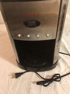 GEVALIA 12 Cup Programmable Coffee Maker XCC-13  Tested  #Gevalia