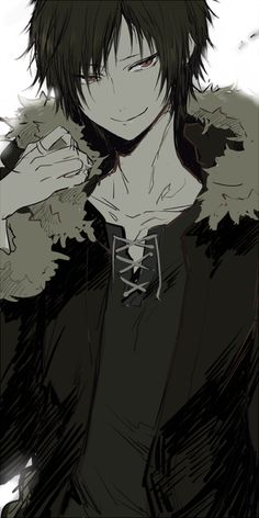 Orihara Izaya. My favorite character in Durarara!! I love him, he's awesoms
