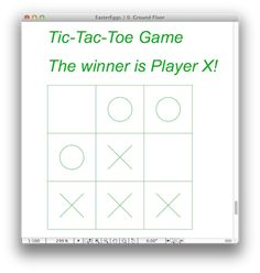 EasterEgg in ArchiCAD:  Re-size an 'Armchair 01' object over 2 meters and you get a Tic-Tac-Toa Game. You can play it in Teamwork with a colleague! Like/RePin if it works on your ArchiCAD too.  Check the website for more EasterEggs.