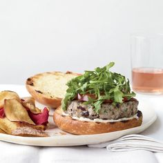 Tuna Niçoise Burgers | This tuna burger offers the flavors of a Niçoise salad, on a bun. Plus: F&W's Grilling Guide  More Tuna Recipes More Great Burgers ...