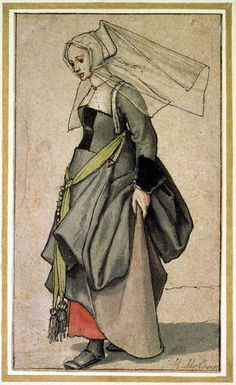 'A Young English Woman ' by Hans Holbein the Younger on artflakes.com as poster or art print $18.48