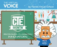 February is National Career and Technical Education Month! #FLVS #CTE