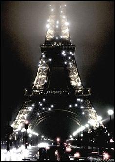My Paris by Night Patricia Gray