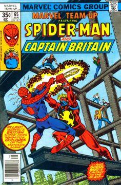 marvel team up   ... blog 1950s 1960s 1970s 1980s : Marvel Team Up #65 - John Byrne art