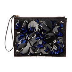 mytheresa.com - Embellished leather clutch - Marni - Designers - Luxury Fashion for Women / Designer clothing, shoes, bags
