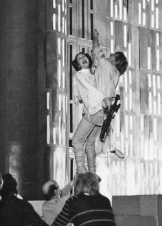 behind the scenes - Mark & Carrie - Star Wars