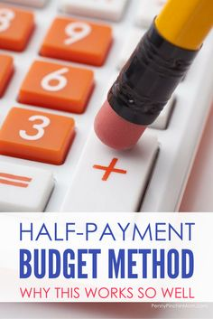 How to create a budget with the half-payment budget method budgeting for beginners Ways To Save Money, Money Saving Tips, Money Tips, Saving Ideas, Mo Money, Money Budget, Money Hacks, Earn Money, Budgeting Finances