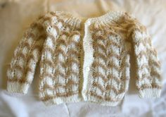 Lightweight newborn sweater 03 months by BaubleandBain on Etsy, $17.00
