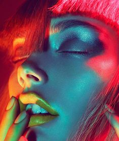 Colour Gel Photography, Creative Photography, Portrait Photography, Fashion Photography Inspiration, Portrait Inspiration, Pose Reference Photo, Portrait Sketches, The Face, Realistic Drawings