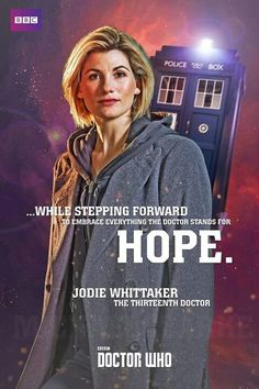So Doctor Who iis back wth over 8 million overnight viewers. For this reason I am paying tribute to Jodie Whittaker as well as a nod back to her predecessors. 13th Doctor, Doctor 13, Rose And The Doctor, Fictional Heroes, Bbc Doctor Who, Female Doctor, Don't Blink, Torchwood, Time Lords