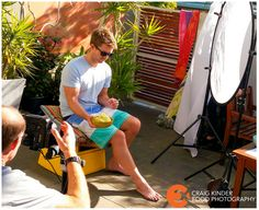 A behind the scenes look from photography set to advertising campaign for Fresh Potatoes AU #CraigKinder