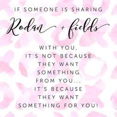 Rodan + Fields is a great opportunity! No inventory or parties required. Work from home, make your own schedule and be your own boss. Message me for more info. rebeccahouser.myrandf.com