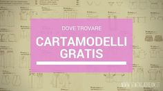 it wp-content uploads 2015 12 dove-trovare-cartamodelli-gratis. Dress Tutorials, Sewing Tutorials, Sewing Projects, Pattern Library, New Hobbies, Diy Dress, Pdf Sewing Patterns, Sewing Techniques, Needle And Thread