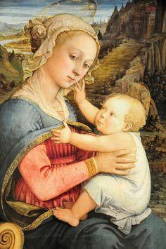 Filippo Lippi, Madonna and Child.