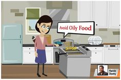 Oily Food is the cause of various health issues, stay away from oil and eat healthy. #harishshetty