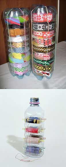 Washi tape and string dispenser hacks.