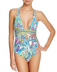 Trina Turk Mykonos One Piece Swimsuit - 100% Bloomingdale's Exclusive   Bloomingdale's