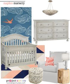 Dolce Babi's Naples Collection-inspired Nursery Design Board - Project Nursery
