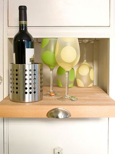 citrus wine glasses
