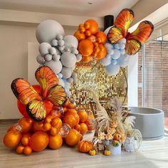 Birthday Balloon Decorations, Birthday Balloons, Baby Shower Decorations, Balloon Backdrop, Balloon Garland, Sequin Wall, Balloons Galore, Birthday Goals, Fantasias Halloween