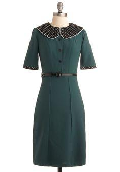 Expecting Guests Dress   Mod Retro Vintage Dresses   ModCloth.com