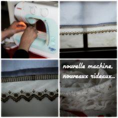 couture, rideau de cuisine