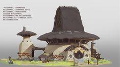 Fantasy City, Fantasy Places, Landscape Concept, Fantasy Landscape, Environment Concept Art, Environment Design, Bg Design, Building Concept, Aesthetic Images