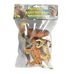 North American Bag: 5-Piece Set (4-7-inch) at theBIGzoo.com, an animal-themed store established in August 2000.