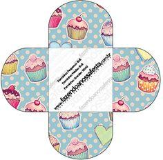 Forminhas Docinhos Cupcakes: