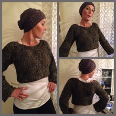 Supereasy knitted Bolero, one night of knitting, and it is finnished :-)