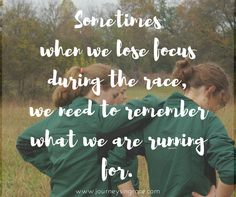 When we learn to run