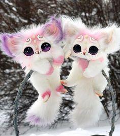Valentine's Kittens von GakmanCreatures auf Etsy