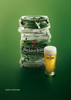 Todos sabemos que a Heineken investe e muito em Publicidade. Campanhas em Tv, anúncio, Outdoor; tudo com uma criatividade imensa para o consumidor e uma inspir