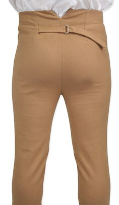 Regency Fall Front Hose – Schwarz gebürstete Baumwolle - New Sites Costume Napoleon, Versace, Historical Emporium, Period Outfit, Mens Suits, Dress Pants, Trousers, 19th Century, Menswear