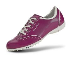 Duca Del Cosma Ladies Mila Golf Shoe in merlot #golf4her #golfshoe #fall14